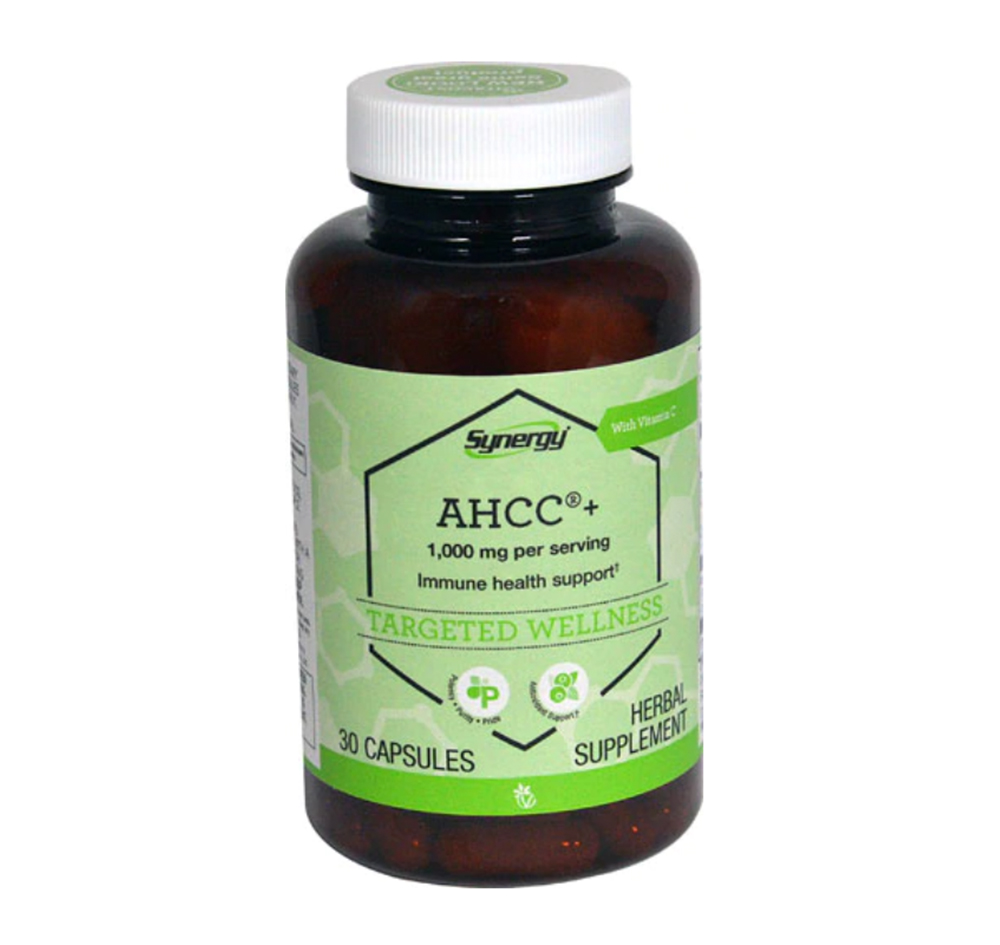 Vitacost Synergy AHCC® + with Vitamin C